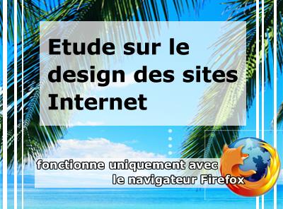 Participer à l'étude sur le design des sites